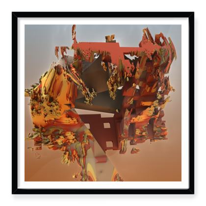 Framed Art Print Can't get you out of my head