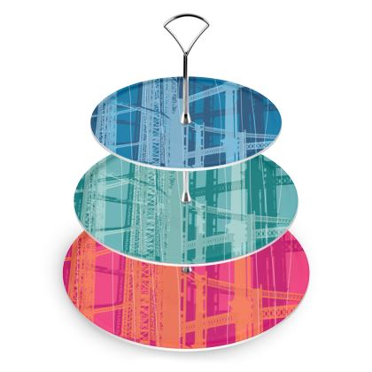 CAKE STAND - Varied Colours cold