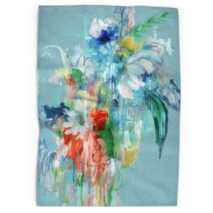 Spring Bouquet Tea Towels