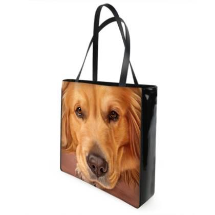 Golden Retriever Dog Shopper Bag - Sweet as Honey