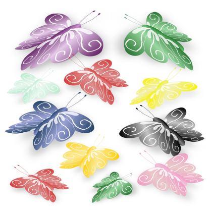 Cushion Butterflies