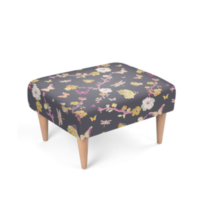 Chinoiserie Footstool