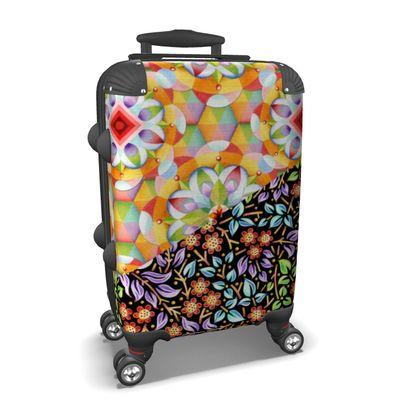 Big Top Floral Filigree Suitcase