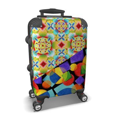 Candy Rainbow Celtic Suitcase