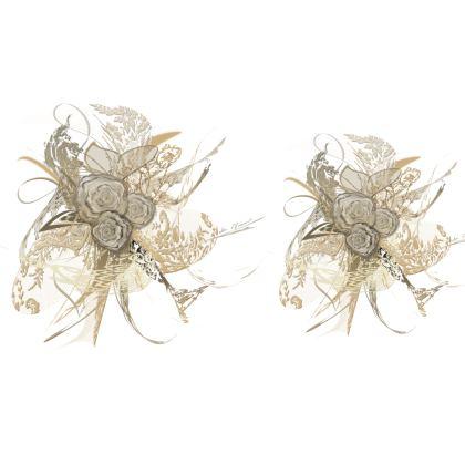 Big Bolster Cushion – Stor avlång bolster kudde - 50 shades of lace white