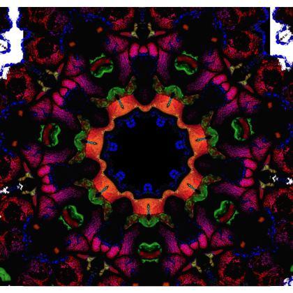 Pelari Design Loafer Espadrilles Psychedelia