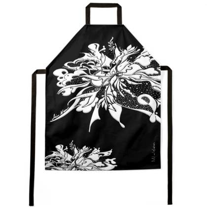 Apron - Förkläde - White Ink Black