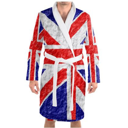 Dressing Gown Union Jack Flag