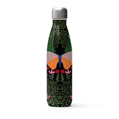 Butterfly in The Garden 01 Thermal Bottle