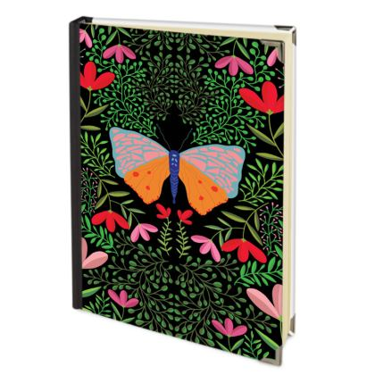 Butterfly in The Garden 01 Journals