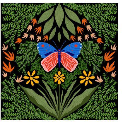 Butterfly in The Garden 03 Journals
