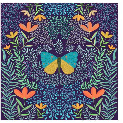 Butterfly in The Garden 04 Journals