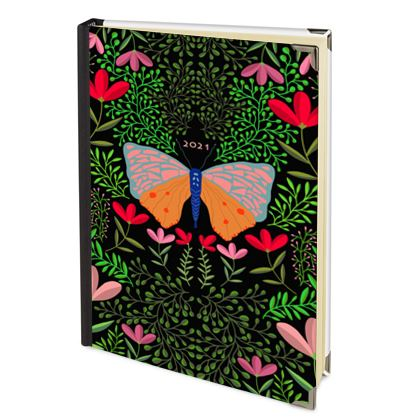 Butterfly in The Garden 01 - 2022 Deluxe Diary