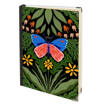 Butterfly in The Garden 03 - 2021 Deluxe Diary