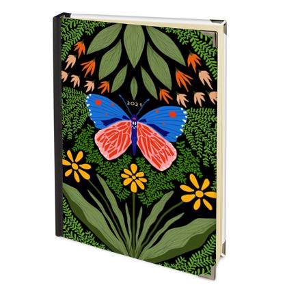 Butterfly in The Garden 03 - 2022 Deluxe Diary