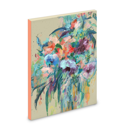Brushstroke Bouquet Pocket Note Book
