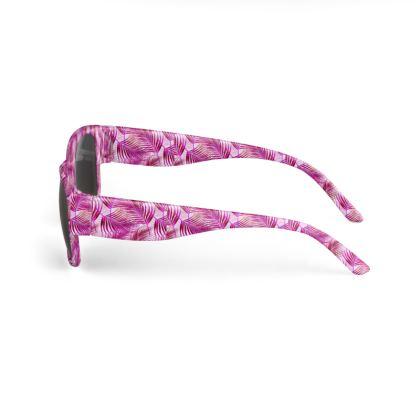 Tropical Garden Collection in Magenta Sunglasses