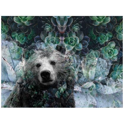 Bear with Me Leather Handbag