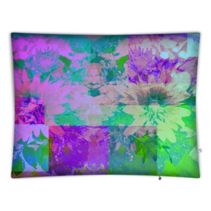 Lilac & Lime Giant Floor Cushion