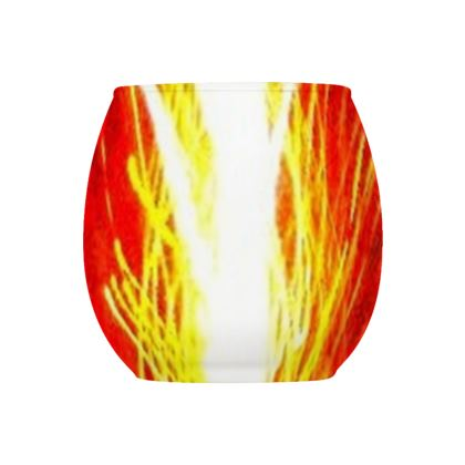 Collection Glass Tealight Holder  -  Spring 1  -  Design 1   -   Collection 1