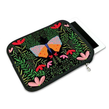 Butterfly in The Garden 01 iPad Slip Case