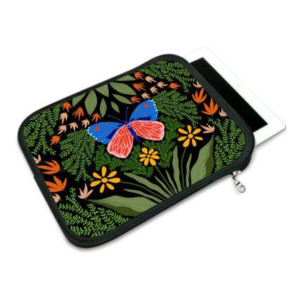Butterfly in The Garden 03 iPad Slip Case