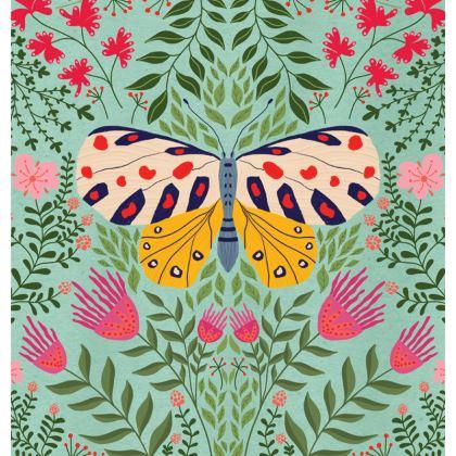 Butterfly in The Garden 02 Luxury Cushions