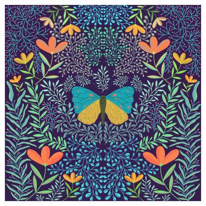 Butterfly in The Garden 04 Luxury Cushions