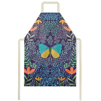 Butterfly in The Garden 04 Aprons