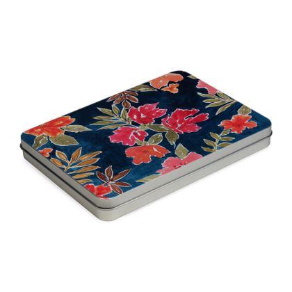 Floral Fiona Pencil Case Box