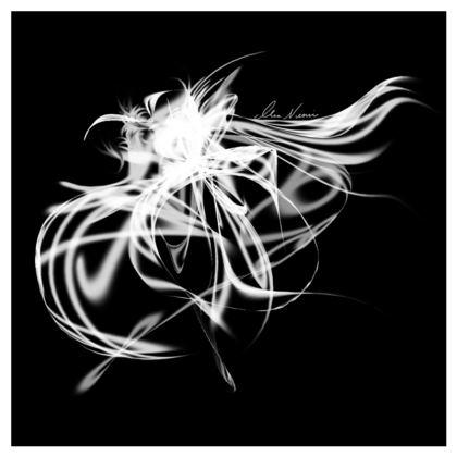 Cushion - Kudde - Una one and two black