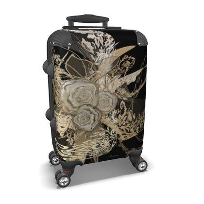 Suitcase (hand luggage) - Resväska  (handbagage) - 50 shades of lace black