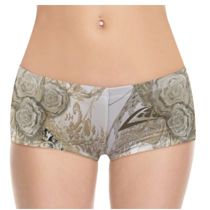 Hot Pants - 50 shades of lace white full