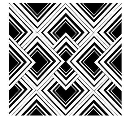 Slip Dress Black And White