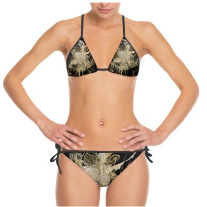Bikini -  50 shade of lace black