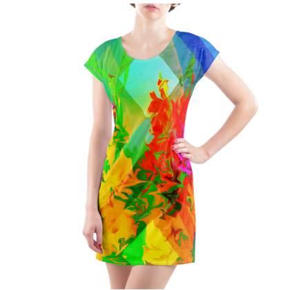 Radiance T-Shirt Dress - UK Size 10/12 (M)