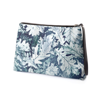 Forest Floor, Indigo - Clutch Bag