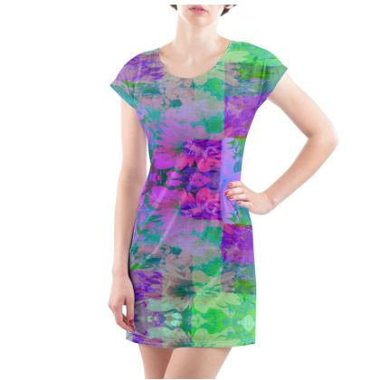 Lilac & Lime T-Shirt Dress