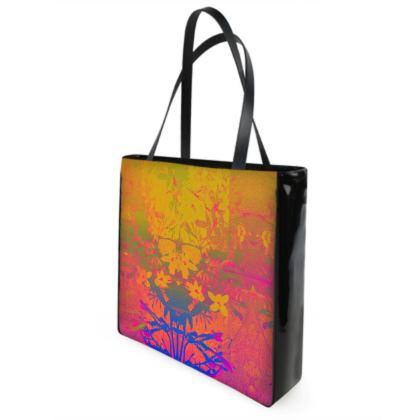 Sunset Shimmer Beach Bag