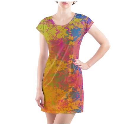 Sunset Shimmer T-Shirt Dress - UK Size 10/12 (M)