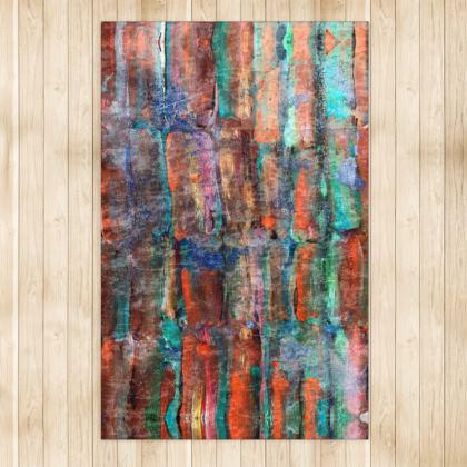 Copper Sugarcane Rug - Large