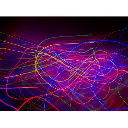 Colour Creative Electric Love Handbag