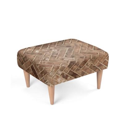 Brickwork texture Footstool