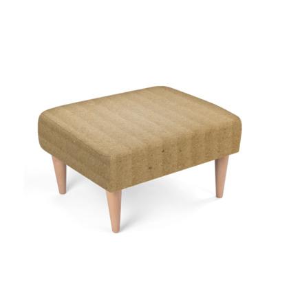 Cardboard texture Footstool
