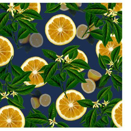Suitcase - Lemons