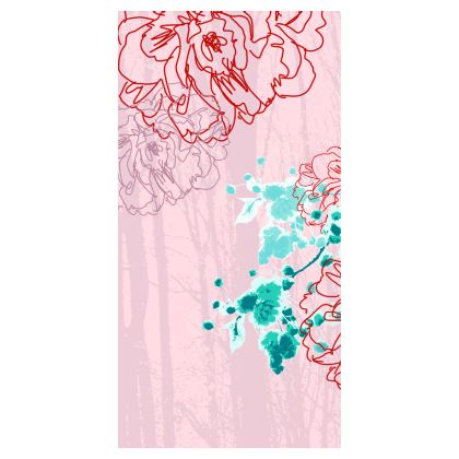 Leggings - Floral Pink