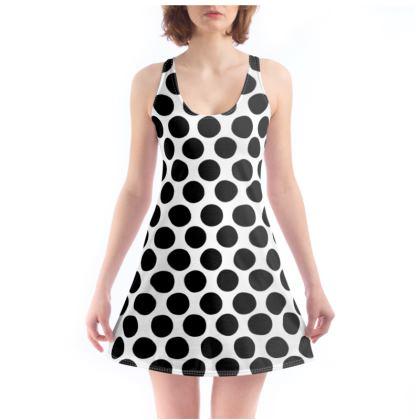Beach Dress Polka Dots