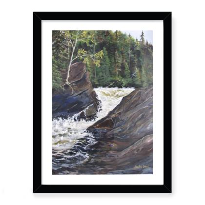 12x16 framed  Fine art print - The Spa