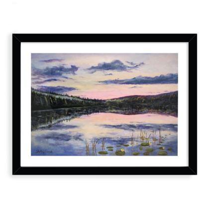 12 x 16 framed art print - title - consideration