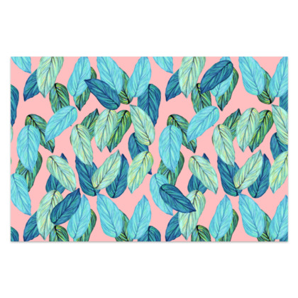 Tropical leaves Sarong
